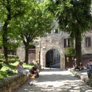 Malerejse i Bergamo Alta